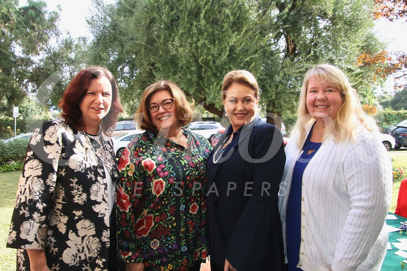 Terri Miller, Mary Jo Ingles, Leanne Starr and Monika Bruegl