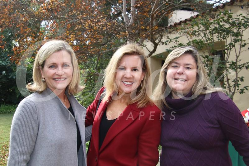 Connie Harding, Heidi Johnson and Kacey Riley