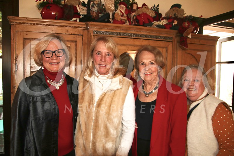 Joan McLaughlin, Cindy Salcido, Claire Slaught and Sharyn Godfrey