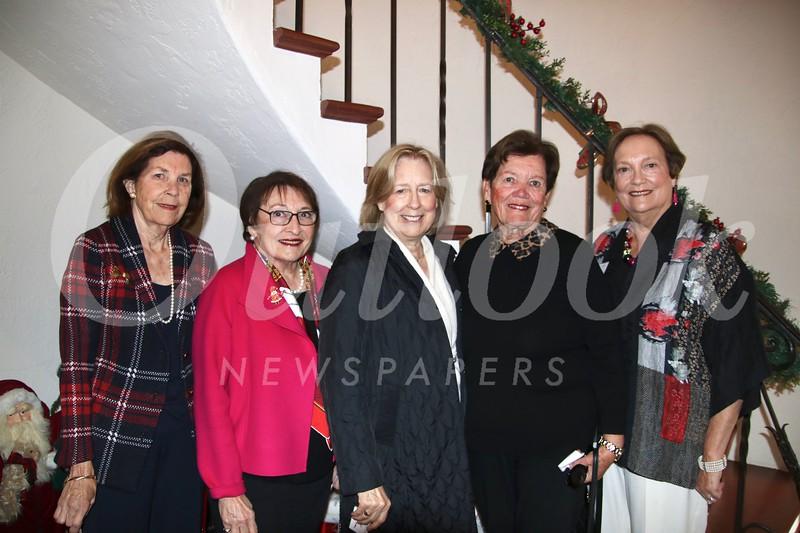 Nancy Kerckhoff, Fran Biles, Marge Kountzman, Chris Dietrich and Nancy Twist