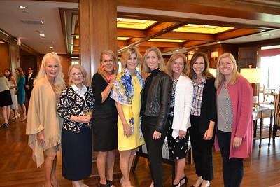 Angel Throop, Debi Lee, Michele Prince, Ann Beeton, Eileen Benson, Stephanie Bender, Moira Love and Sarah Rogers Krappman