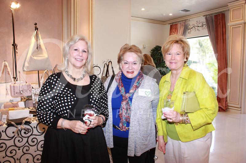 Tory Howe, Susie McIntosh and Leslie Ann Holliday
