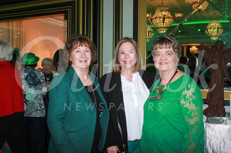 Jacqueline Ficht, Brigid Brahos and Sara Law