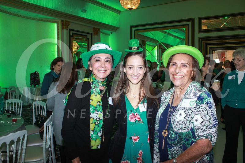 Clarita Gustafson, Sierra Aguirre and Connie Aguirre