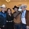 Brad and Celene Lyddon, Ryan Forrest and Andrew Boaz