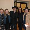 Claire Marco, Casey and Daniel Solomon, Devon Cole and Marcie Robinson