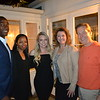 Pasadena Vice Mayor Tyron and Tara Hampton, COF President Kate Kohorst, Jennifer Rogers and Kidspace board President and interim CEO Mike Bryant
