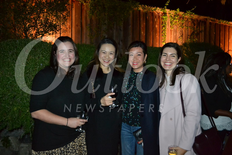 Chelsea Dickerson, Ruth Chen, Karen Chou and Christine Muller