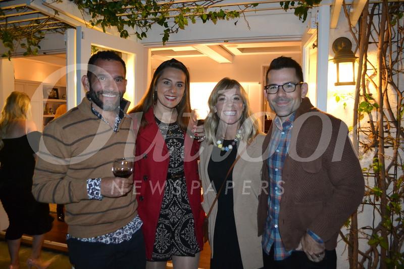 Antonio and Chelsea Hernez with Eryn and Matt Kalavsky
