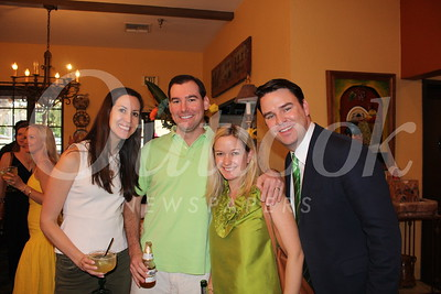 Leslie and Jordan Lopez with Marissa and Jeff Bell