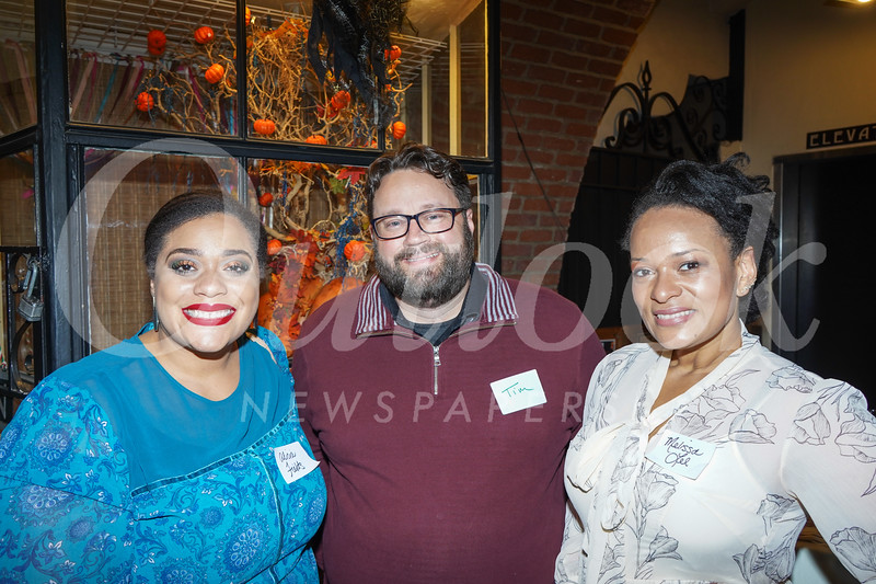 Alicia Fields, Tim Ferreira and Melissa Lee