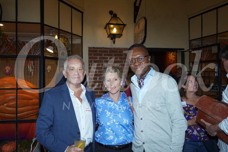 Pat and Kate Amsbry with David Samuels