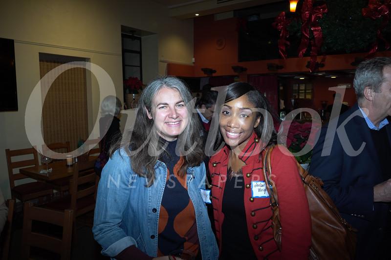 Kaya Plansker and Amber Wright