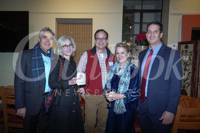 Charles Loveman, Teresa Grimes, Andy Wilson, Jennifer DeVoll and George Hasbun