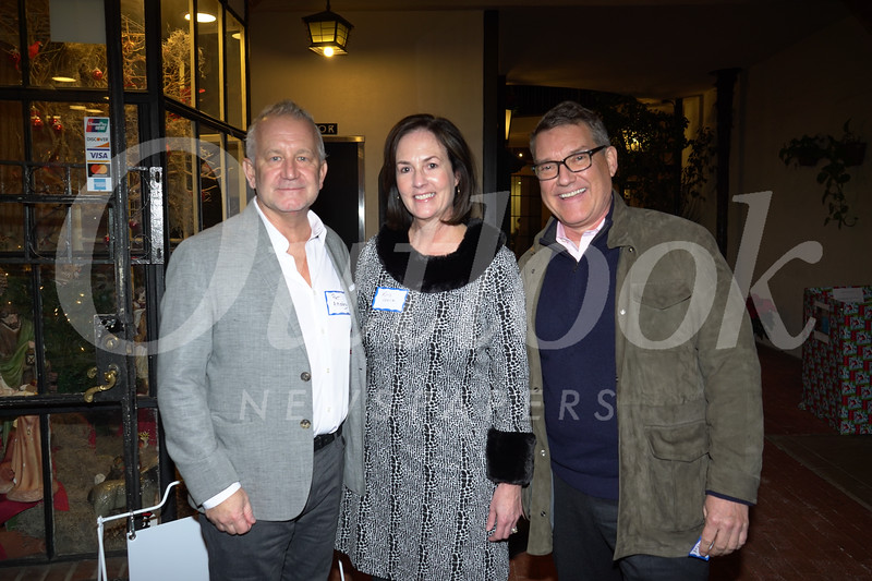 Pat Amsbry, Kris Leslie and Phil Swan