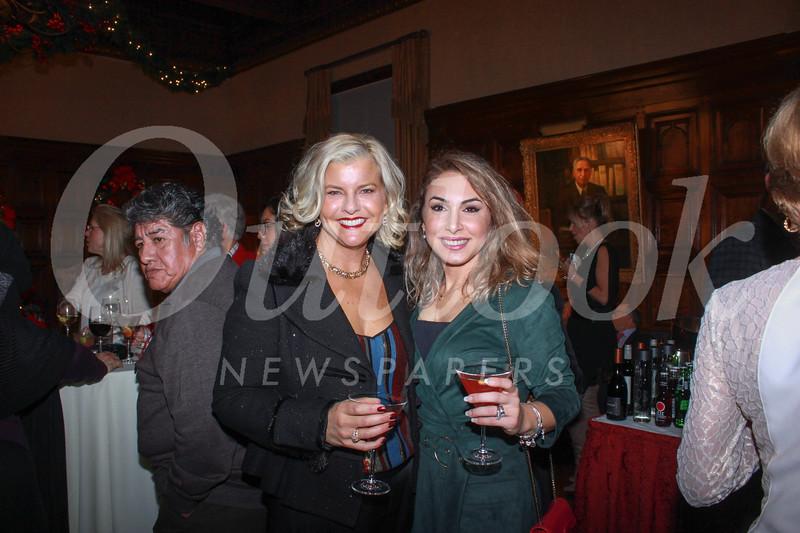 Jennifer Allen and Aline Sarkissian