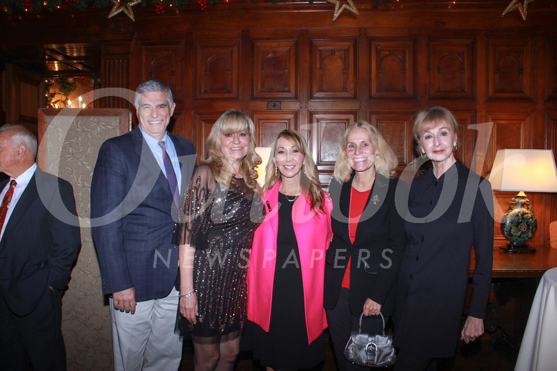 Joe Mamone, Lori Ramirez, Josette Wolf, Bettina Rosenfeld and Rose Marin