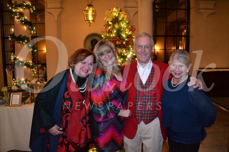 Rosey Bell, Lori Ramirez, Chuck Livingstone and Claudia Fisher