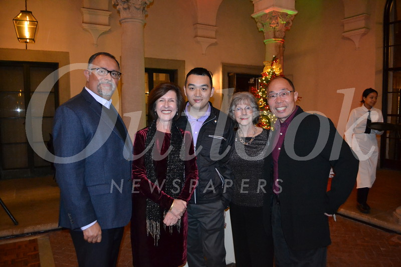 Louis Romo, Bevin Eustace, Jerry Shen, and Radey and Howard Lu