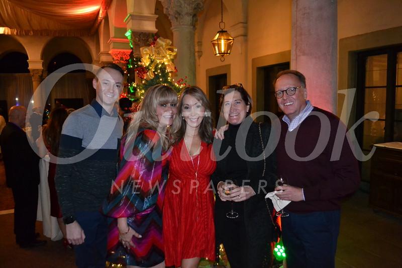 Ryan Campbell, Lori Ramirez, Josette Wolf, and Laurie and David Turner