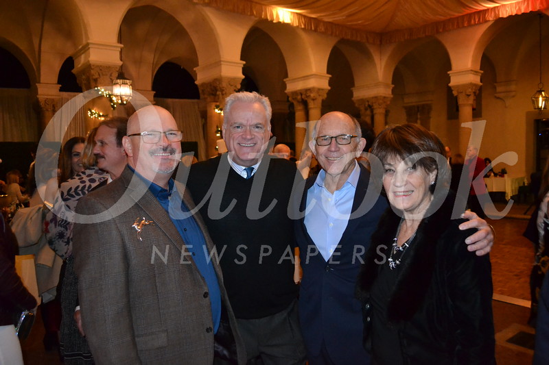 Steven Daly, Tony Dowdy, and Arthur and Heather Ross