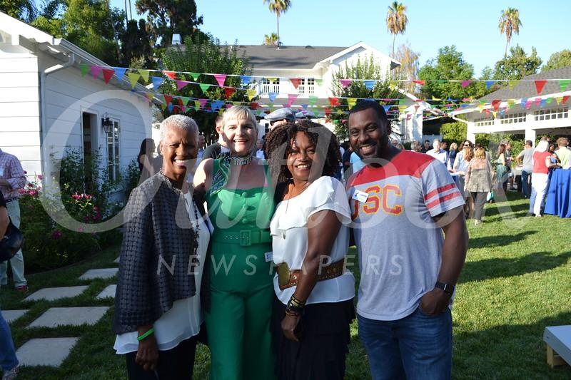 Eddie Newman, Mo Hyman, Sheryl Orange and Lawayne Williams