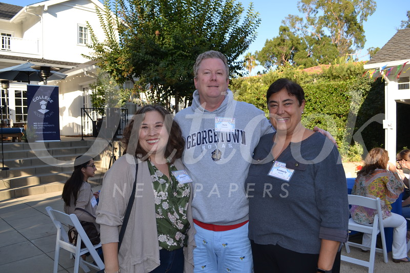 Julianne Hines, Rich Webster and Kimberly Kenne