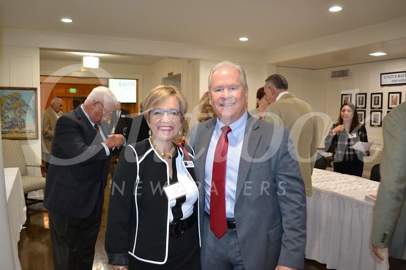 Anne Miskey and Jim Balla