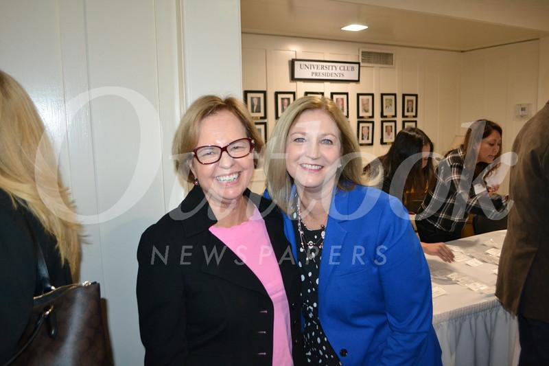 Phyllis Crandon and Kay Wolking