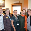Sandy Roberts, Elizabeth Pomeroy, Carol Liu, Peggy Buchanan and Mary Donnelly-Crocker