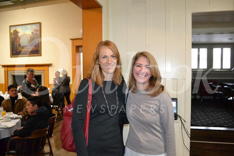 Megan Katerjian and Nancy Stiles