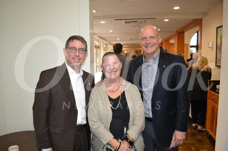 Mark Maviscal, Bridget Brewster and Jim Osterling