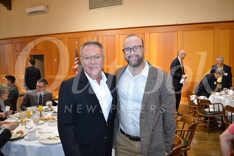 Dennis Cornell and Danny Feldman