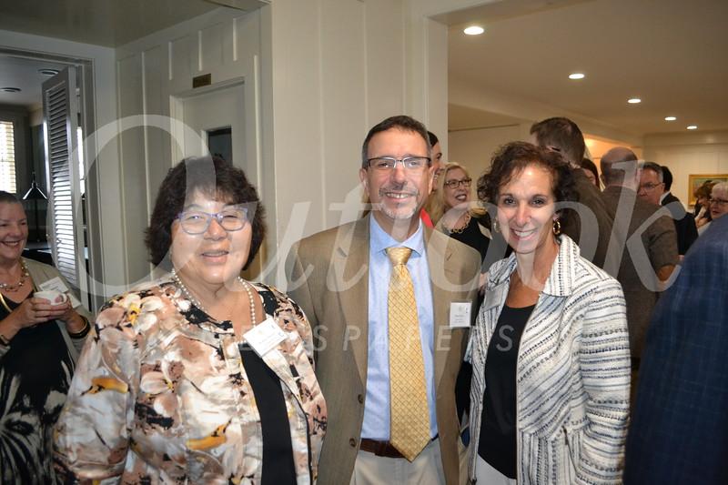 Kathy Onoye, David Spiro and Nancy Dufford