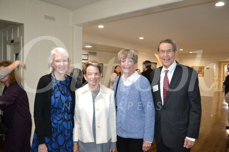 Diane Cullinane, Judy Gain, and Claire and Bill Bogaard