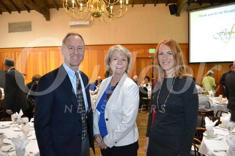 Brian Spaulding, Lisa Cavelier and Megan Katerjian