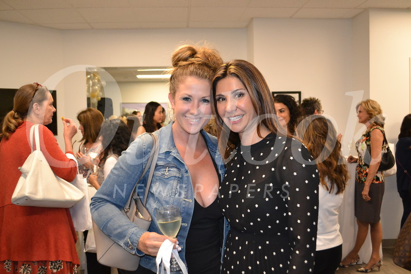 Rayann Scolnick and Dr. Sara Gaspard