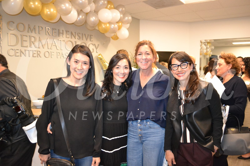 Saera Hwang, Dr. Han Lee, Jennifer Giancola and Gracie Valenzuela