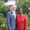 Mark Waterson and honoree Lydia Maraiyesa