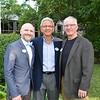 Mark Waterson, board member John Calderone and Mike Noll
