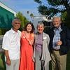 John and Liz Staff with Carole and David Jones
