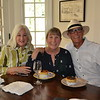 Jill Hammer with Beth and Bob Jenks