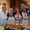 Kathy Gibson, Farida Saidi, Leslie Spencer and Yannis Touam