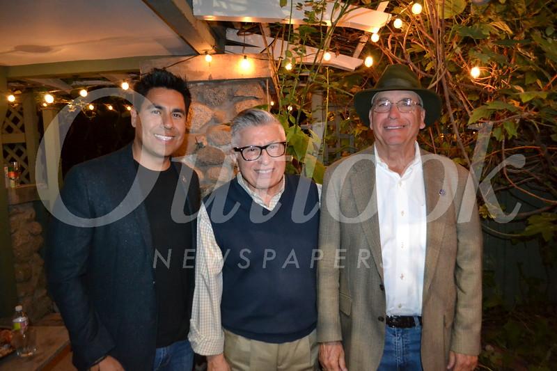 David Galvez, Sam Thomas and Alan Vlacich