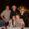 Jamie Inzunza (seated) and Kate Stamps. Back: Doug Yokomizo, Barbara Sinclair and Joan Aarestad.