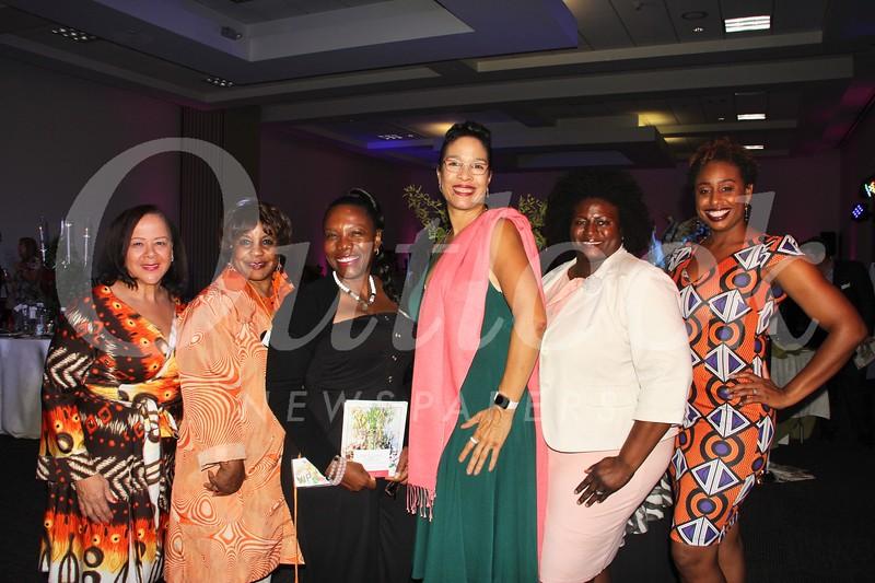 Char Bland, Jeané Ward, Taneka Dianne, Stacie Bolden, Patrice McKenzie and Khalilah El-Amin