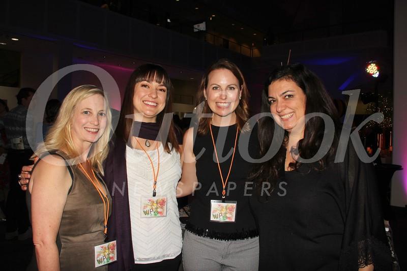 Michele Abernathy, Brittany Duke, Kristen Jones and Anna Agadjanyan