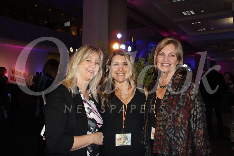 Alana Steele, Maria Videla and Cheryl Hardy