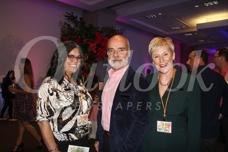Sabina Loos with Mike and Sue Cassidy