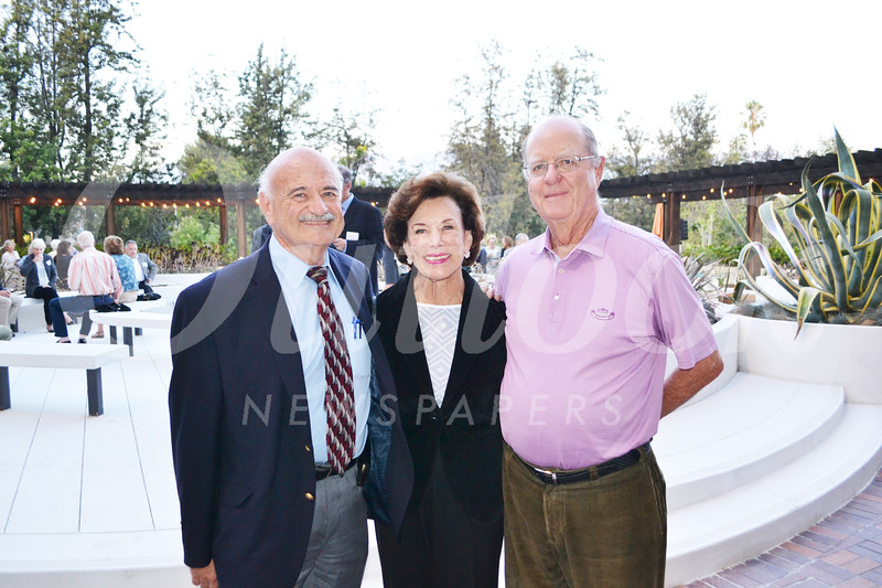 Dr. Alfredo Sadun with Mona and Frank Mapel
